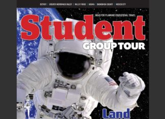 December 2018 Student Group Tour magazine