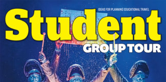 Student Group Tour magazine, April 2019