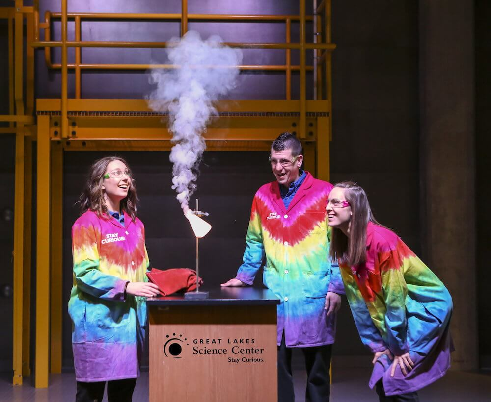 Great Lakes Science Center, Cleveland, Ohio Credit: Great Lakes Science Center