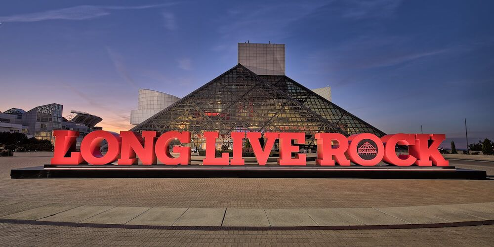 Rock & Roll Hall of Fame, Cleveland, Ohio Credit: Rock & Roll Hall of Fame