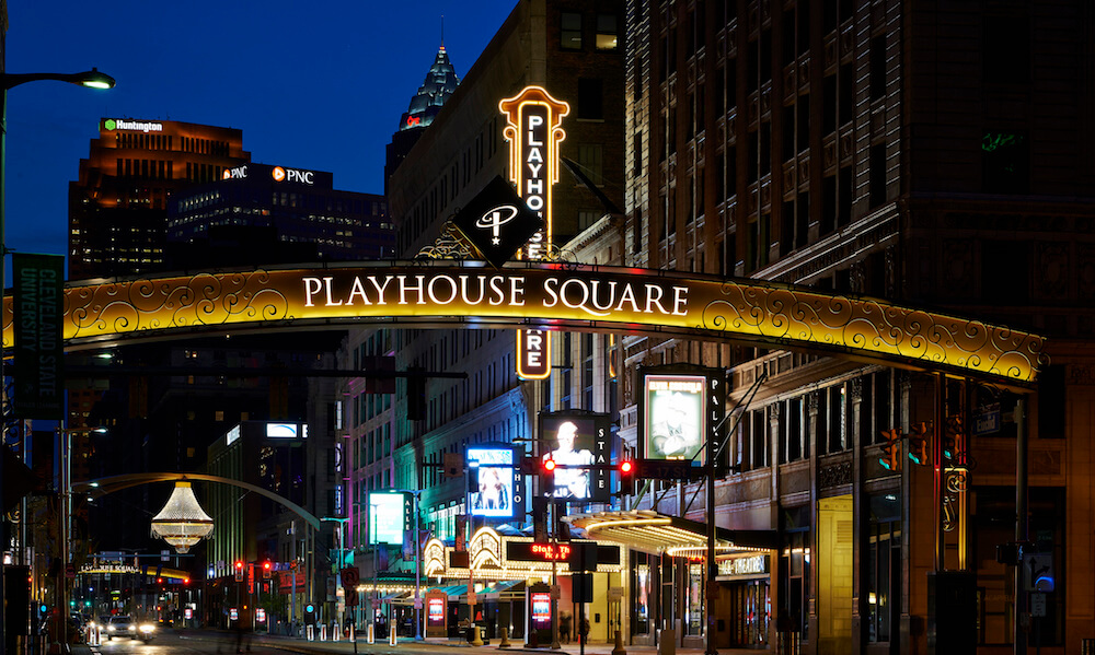 Playhouse Square in Cleveland Ohio