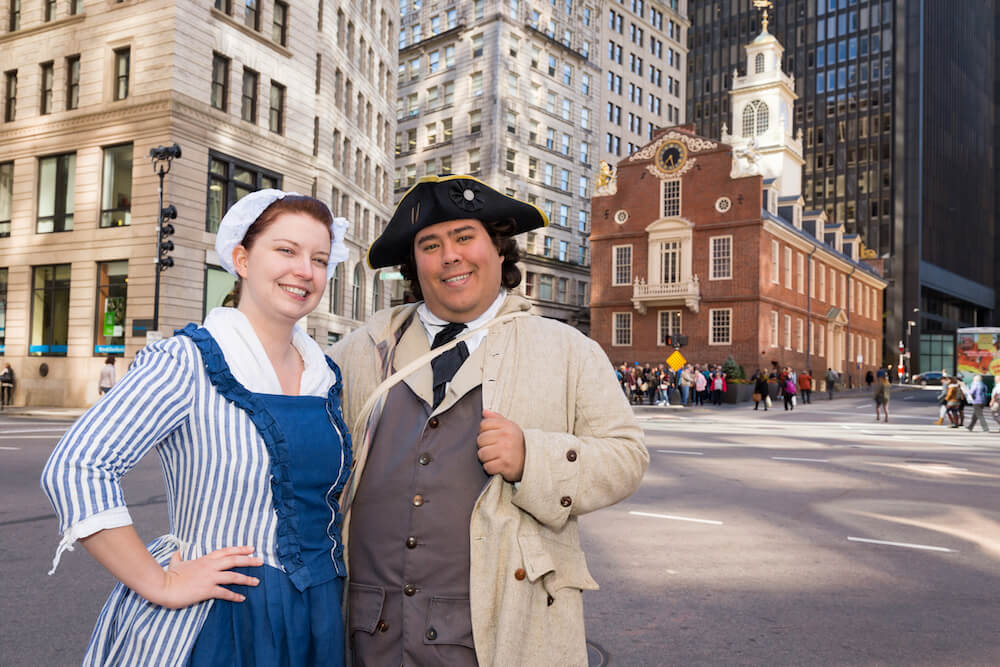 Freedom trail Players in Boston