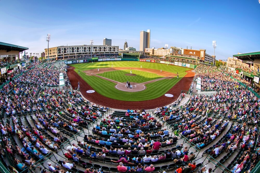 Parkview Field in Fort Wayne, Indiana