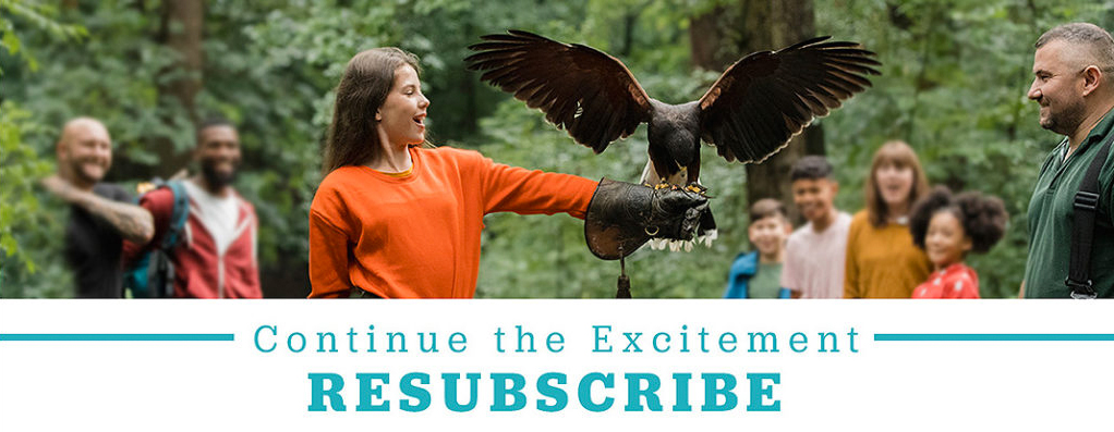Renew your subscription to Student Group Tour magazine