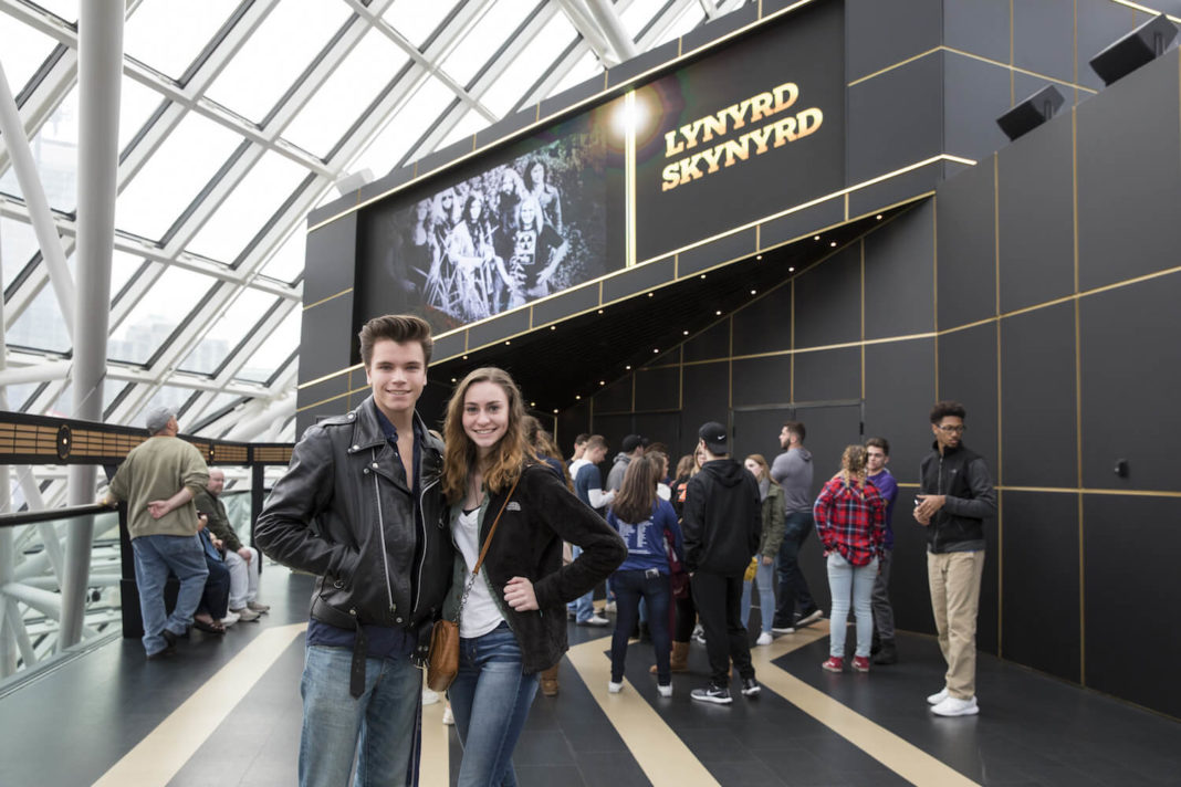 Rock & Roll Hall of Fame exhibit