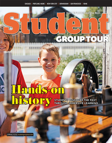 The Spring 2020 issue of Student Group Tour is now online.