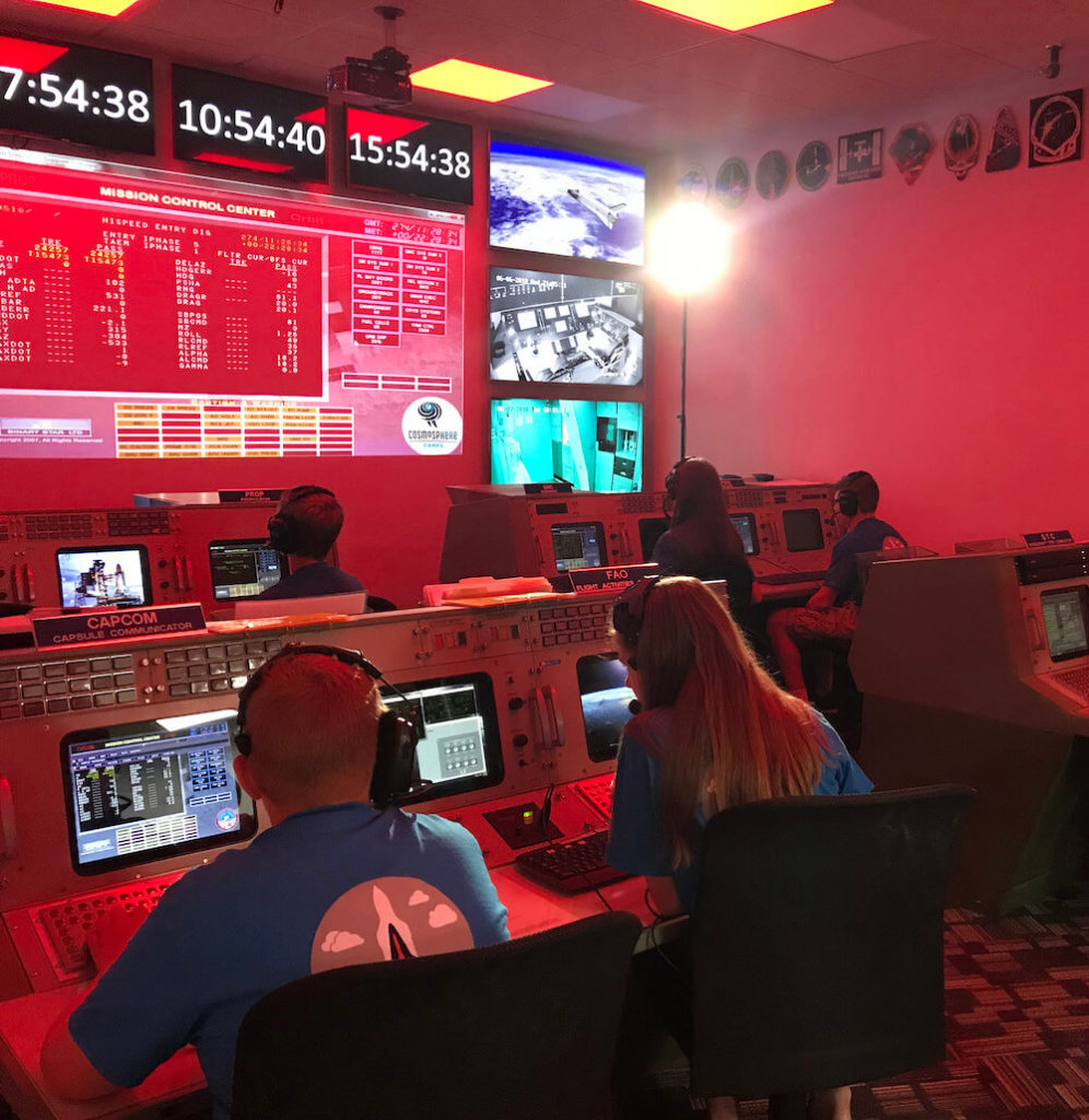 Cosmosphere mission control